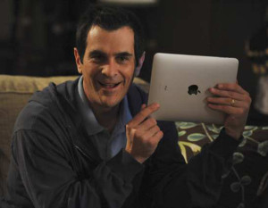 Phil Dunphy con iPad