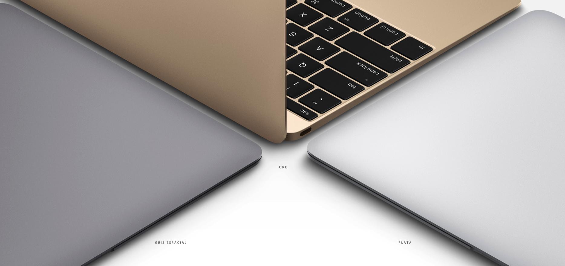 Nuevo MacBook disponible en 3 colores