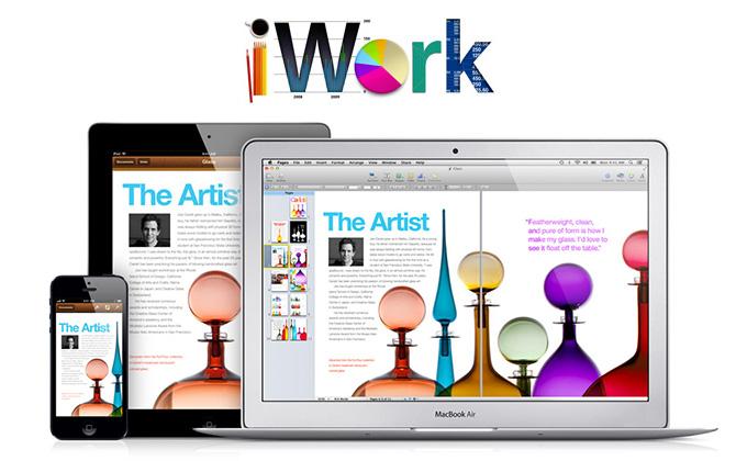 Actualizacion de Apple en iwork para osx e iOS