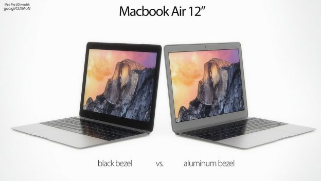 Posible Macbook Air de 12 pulgadas
