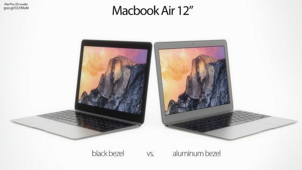 Posible Macbook Air de 12 pulgadas