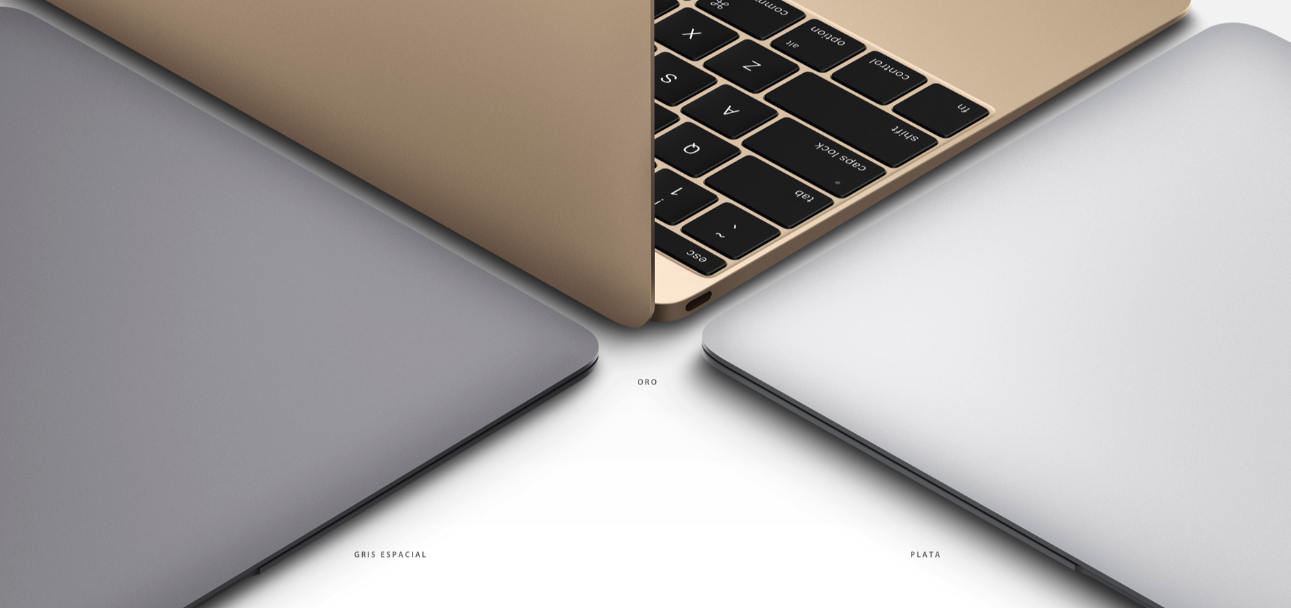 Nuevo MacBook disponible en 3 colores